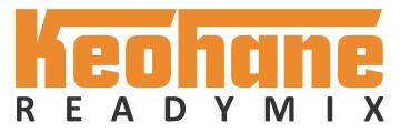 Keohane Readymix Logo