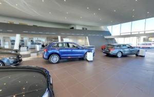 Inside Audi Showrooms Cork