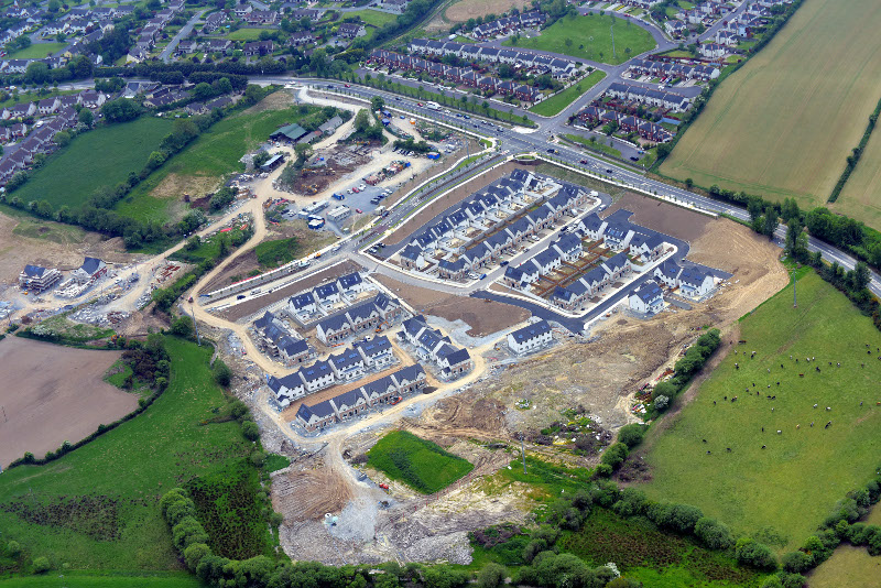 Aerial view of Janeville Carrigaline