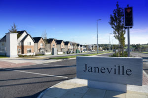 Entrance to Janeville in Carrigaline